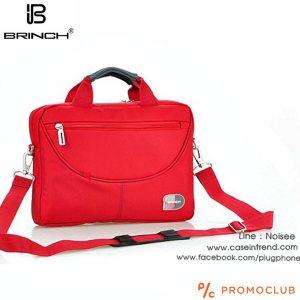Бизнес чанта BRINCH COMPACT RED 3445, с противоударно отделение за лаптоп и таблет