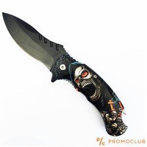 Сгъваем ТОП нож SKELETONS, красив и удобен