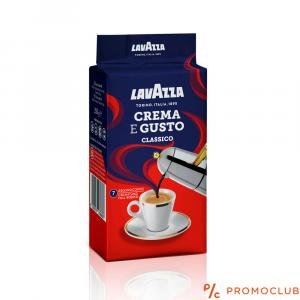 Кафе Lavazza crema e gusto 250г.