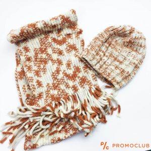 Комплект зимни шапка и шал ZAG MRAMOR супер меки и нежни