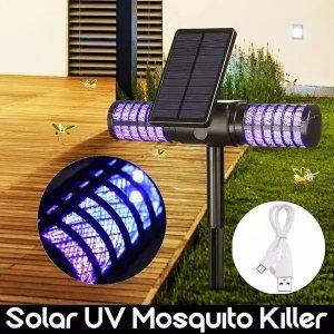 Градинска UV соларна лампа против насекоми