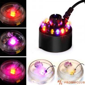 Мини фонтан с ефект мъгла и RGB светлина 24V