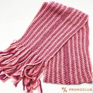 Дамски зимен шал ZAG WINTER RED-PINK LADY