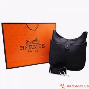 Дамска чанта HERMES- черна