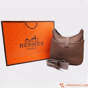 Дамска чанта HERMES, естествена кожа