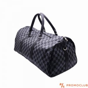 Столен пътен сак LOUIS VUITTON - черен шахмат