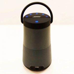 Голяма блутудна MP3 HiFi аудио система BOSE REVOLVE+ BLACK, висок клас реплика
