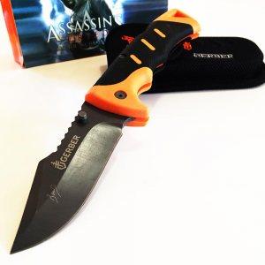 GERBER ASSASSINS CREED- голям сгъваем нож с калъф и кутия
