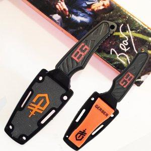 Компактен луксозен тактически нож GERBER с фиксирано острие, тактическа кания за колана
