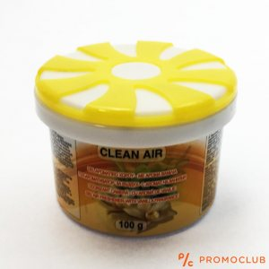 Траен ароматизатор ЛИМОН желе, 100 гр, за кола, гардероб или помещение