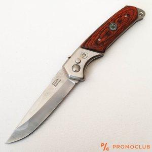 Голям автоматичен ловен нож WILD PANTER 0015 с пружинен механизъм и кания