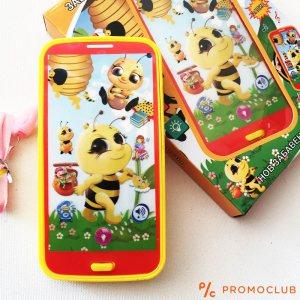 Интерактивен детски смартфон на български ПЧЕЛИЧКА:  KID SMARTPHOBE BEE