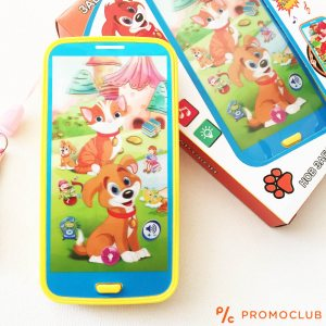 Интерактивен детски смартфон на български КУЧЕНЦЕ:  KID SMARTPHOBE DOG