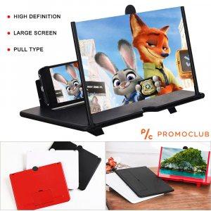 Лукс 3D екран за мобилен телефон за гледане на филми и уголемяване на образа