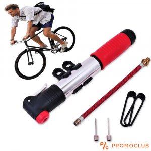 Ръчна мини вело помпа със стойка за велосипед