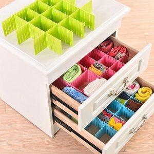 Универсален органайзер за шкафове с дълбочина 14 см, сглобяване на произволни конфигурации