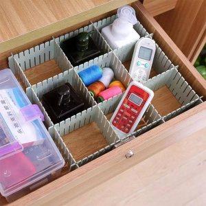 Универсален органайзер за шкафове с дълбочина 10 см, сглобяване на произволни конфигурации