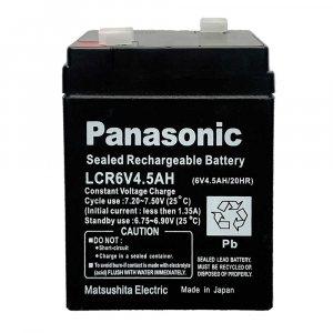 Мощна зареждаема батерия PANASONIC LCR 6V 4.5Ah, запечатана