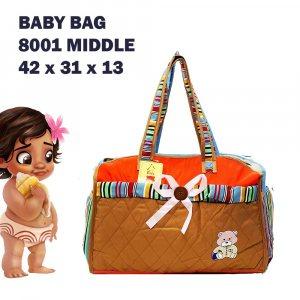 Бебешка чанта RED COMPACT за пелени, дрехи и аксесоари с ПОДАРЪК подложка за преповиване