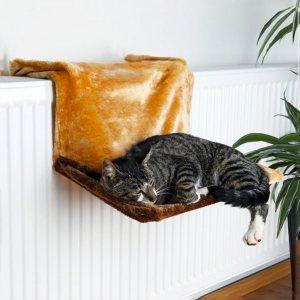 Закачащо се меко легло за котки  - подарете удобство на вашето коте