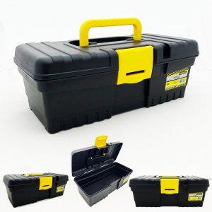 Компактен куфар за инструменти TOOLBOX  31 x 15 x 11 см с дръжка и закопчалка