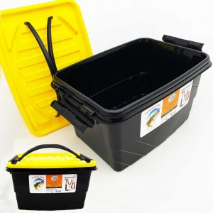 Кутия- кофа за инструменти, риба, захранка и др STORAGE BOX с дръжки и капак,  22х32х18 см