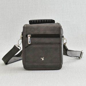 Мъжка чанта STRONG 8618 GREY, еко кожа