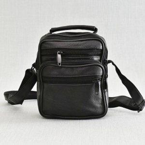 Мъжка чанта ЕСТЕСТВЕНА кожа - практична и удобна, 0418