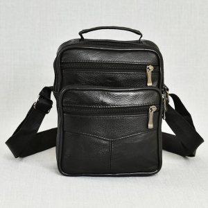 Мъжка чанта ЕСТЕСТВЕНА кожа - практична и удобна, 0516