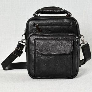 Мъжка чанта ЕСТЕСТВЕНА кожа BLACK STYLE, 1008А