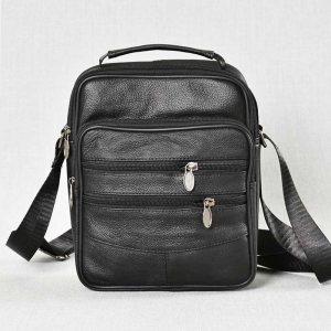 Мъжка чанта ЕСТЕСТВЕНА кожа BLACK STYLE, 6612