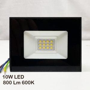 10W LED прожектор на супер цена, 800Lm, 6000К, мини корпус