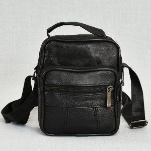 Мъжка чанта ЕСТЕСТВЕНА кожа BLACK STYLE, 7015