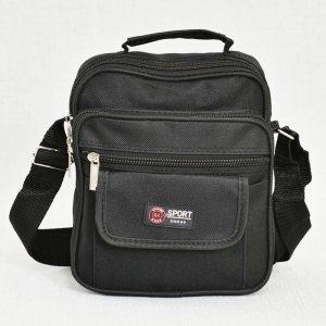 Мъжка спортна чанта ТЕКСТИЛ BLACK STYLE, 8197