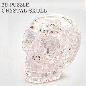 Кристален 3D пъзел ЧЕРЕП, 49 парчета