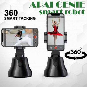 Смарт робот APAI GENIE заснема изображеия и видео вместо теб с мобилния ти телефон