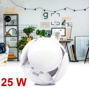 Нова супер мощна LED лампа TRANSFORMER BALL 5X, 25W Е27, 6500К, 8 X 7 см