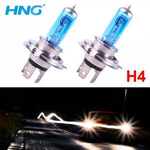 2 Броя SUPER WHITE XENON HNG Авто Крушки H4 12V 60/55W 5500K Xenon Gas
