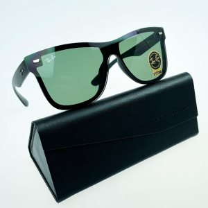 Слънчеви очила RAY BAN RB4388N GREEN 601S/55, с ПОДАРЪК спортен кожен калъф MARC JOHN