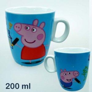Керамична чаша Прасенцето Пепа и Джордж, 200 мл, PEPPA PIG and GEORGE