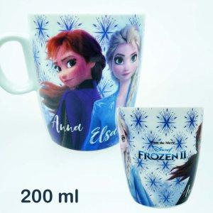 Керамична чаша Елза и Ана от Замръзналото Кралство 2, 200 мл, FROZEN II