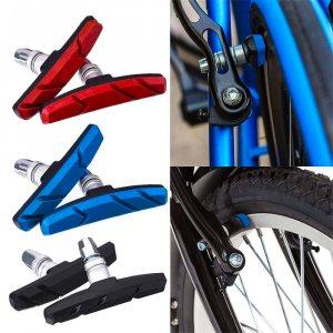 Комплект спирачни вело накладки 70 мм, черни, 2 броя за велосипед