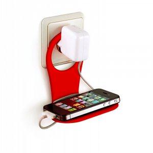 Практична поставка за зареждане на мобилен телефон, MP3 Player и PDA уреди