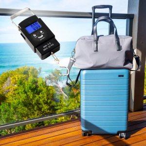 Моментален електронен кантар до 20 kg, светещ дисплей, авт. изключване
