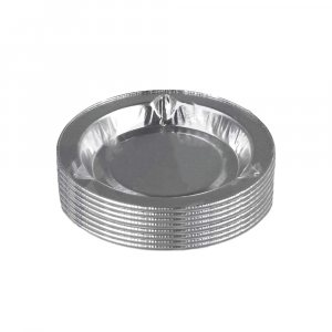Десет алуминиеви еднократни пепелници - идеални по време на път, 10 броя