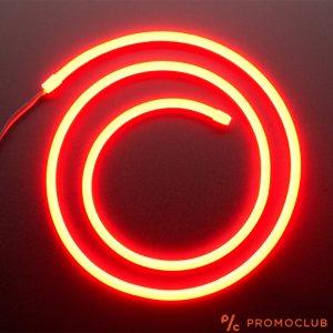 Светеща оранжева неонова LED лента, 3 метра