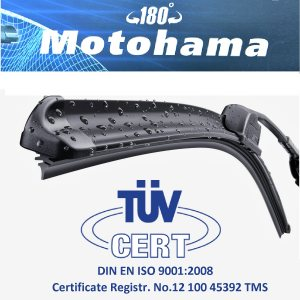 TUV CERTIF графитена авто чистачка банан MOTOHAMA тип кука с размер 14-28 инча - 1 брой