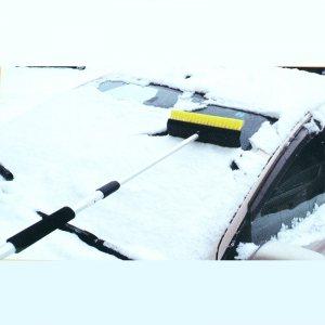 Супер дълга комбинирана четка със стъргалка за сняг и лед за бусове и камиони, дълж.120 см