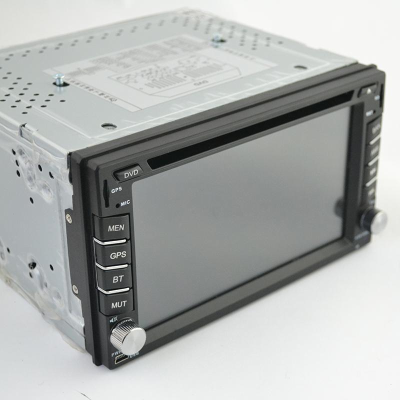 Мощна DVD-GPS-MP5 аудио видео авто система 2DIN, 4x60W