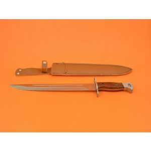Голям нож АК47-4 СССР 39.0 см с дървена дръжка и калъф